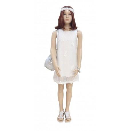 Ebita 186002 Φόρεμα αμάνικο