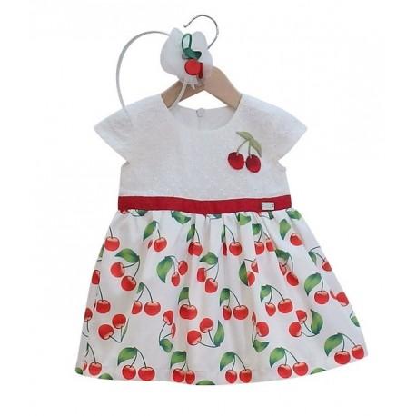 Ebita 186517 Φόρεμα με στέκα βρεφικό