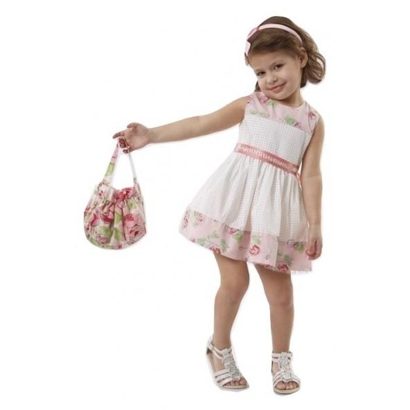Ebita 186230 Φόρεμα με τσαντάκι