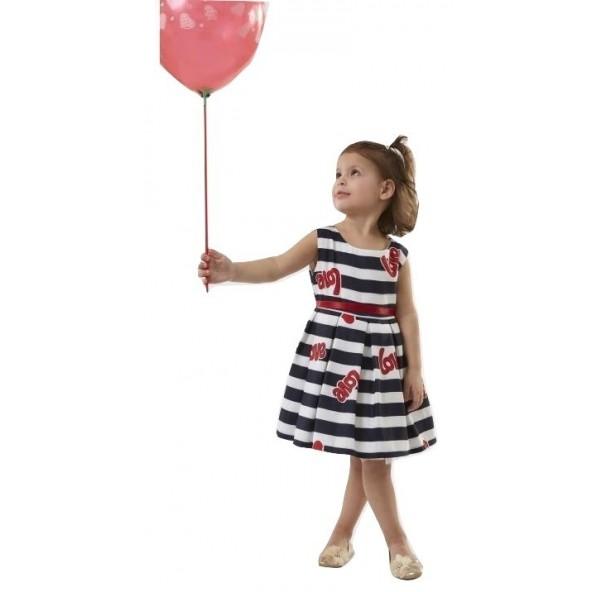 Ebita 186229 Φόρεμα αμάνικο