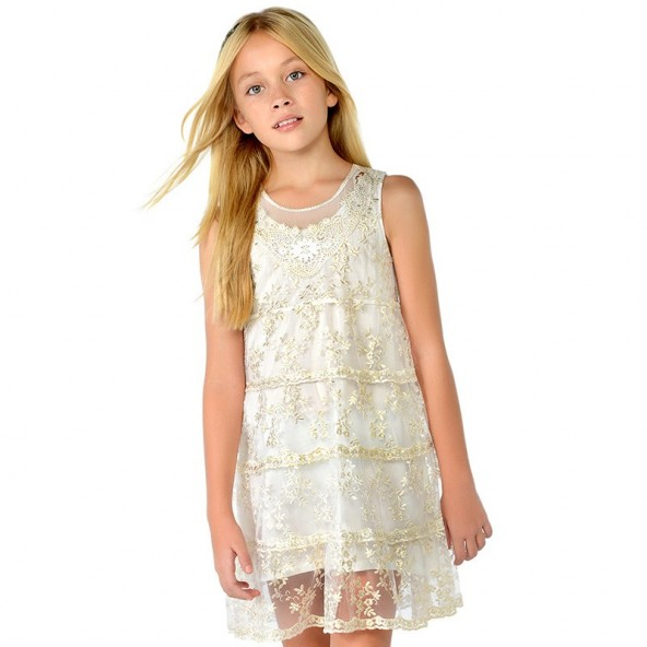 Mayoral 28-06922-018 Φόρεμα τούλι 6922