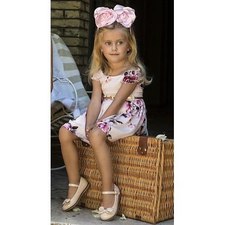 M&B 8819 Φόρεμα floral παιδικό