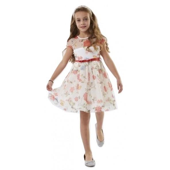 Ebita 186007 Φόρεμα κοντομάνικο