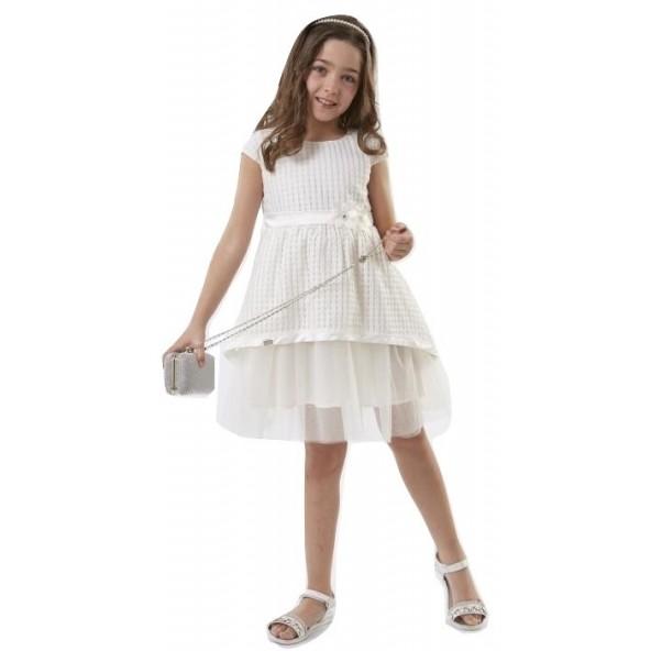 Ebita 186009 Φόρεμα κοντομάνικο