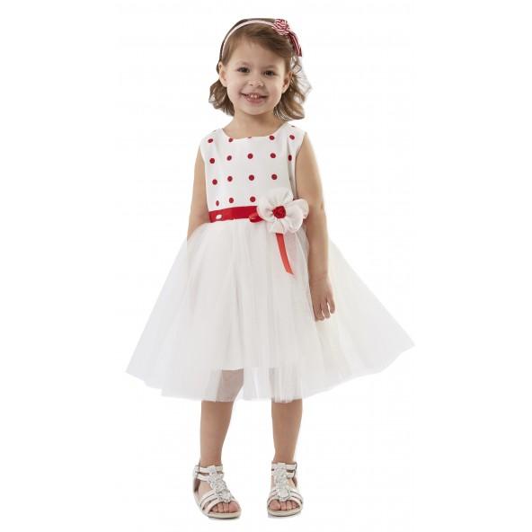 Εβίτα 186222 Φόρεμα παιδικό με στέκα