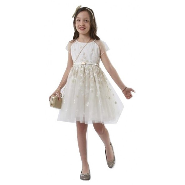 Ebita 186012 Φόρεμα κοντομάνικο