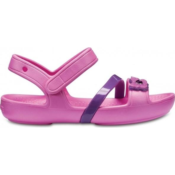 Crocs Lina Sandal Party 205043-6U9 Παιδικά Πέδιλα
