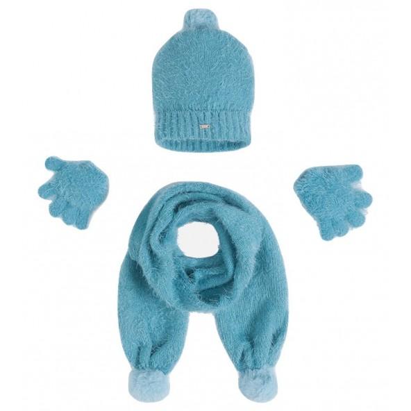 Mayoral 10293 Σετ κασκόλ, σκούφος, γάντια