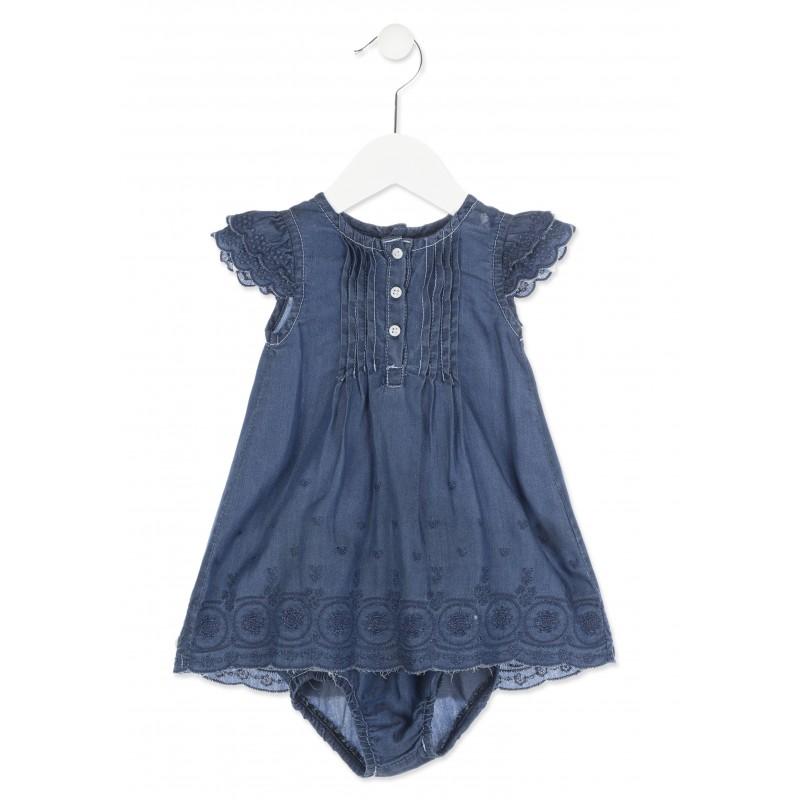 3c8d0fc4cb4c Losan 818-7013AD Φόρεμα βρεφικό τζιν. Loading zoom