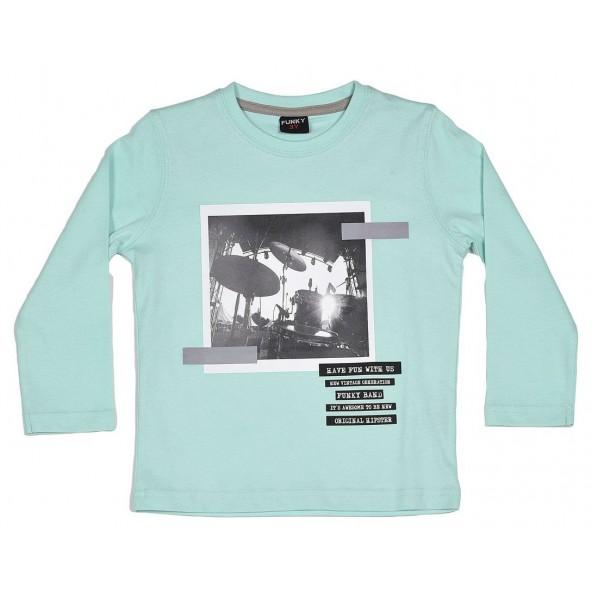 Funky 118-306102 Μπλουζάκι μακρυμάνικο