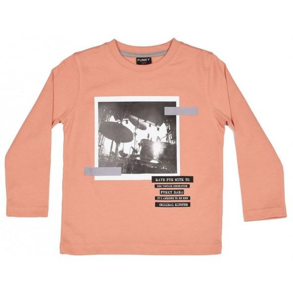 Funky 118-306102-2 Μπλουζάκι μακρυμάνικο