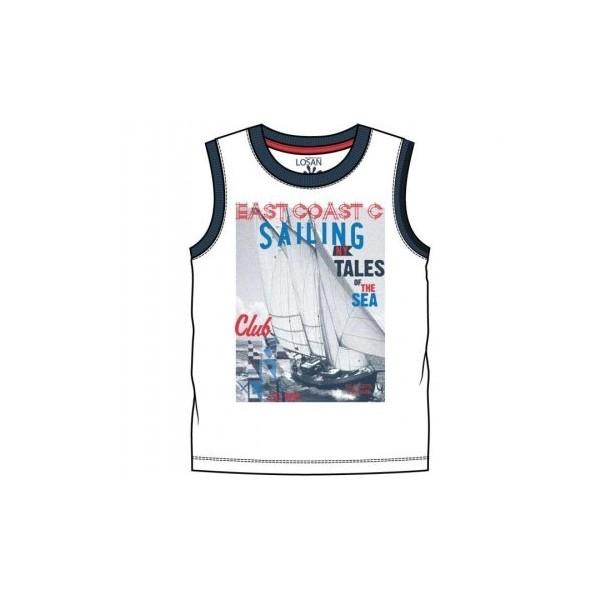 Losan 815-1200AC Αμάνικο μπλουζάκι αγόρι