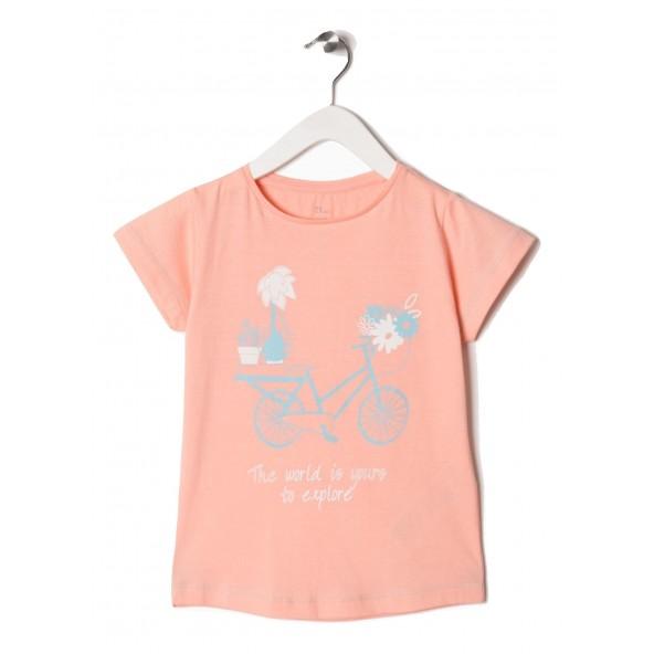 Zippy ZG0243013 Μπλούζα κοντομάνικη κορίτσι