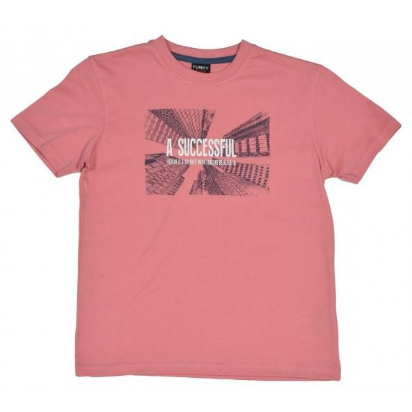 Funky 118-105148-1 Μπλούζα κοντομάνικη