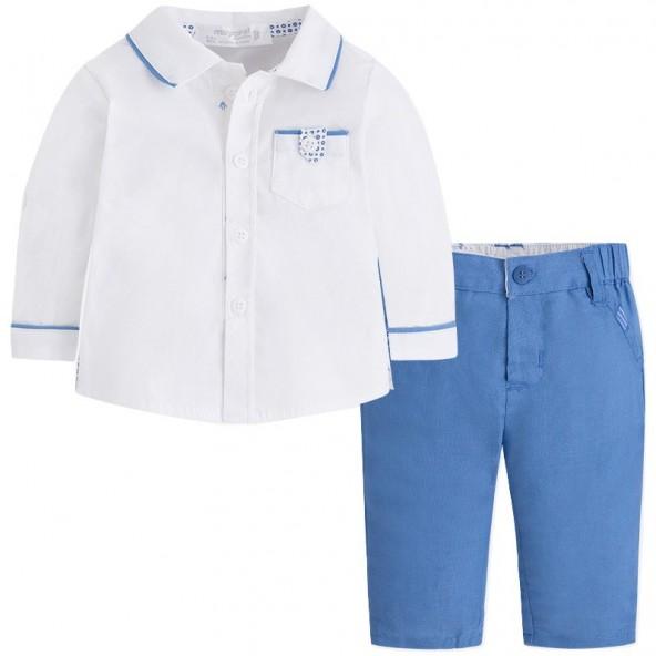 Mayoral 28-01520-063 Σετ πουκάμισο,παντελόνι 1520