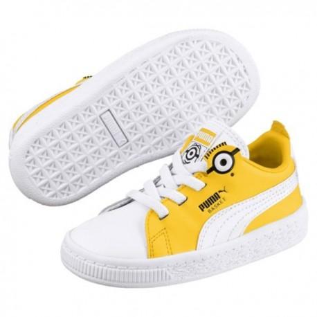 Puma Minions Basket BS AC Inf 366563 01 Αθλητικό παπούτσι 3adbc575eaa