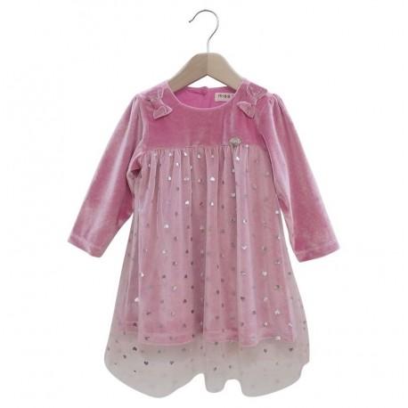 Ebita 187537 Φόρεμα βρεφικό μακρυμάνικο