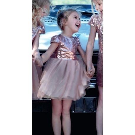 M&B 9117 Φόρεμα μπεμπέ τούλι