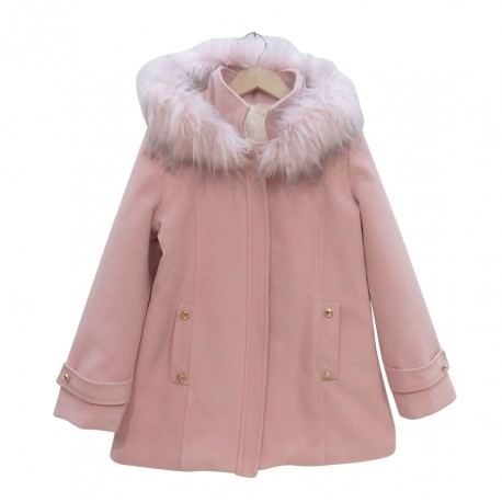 Ebita 187156 Παλτό Ροζ