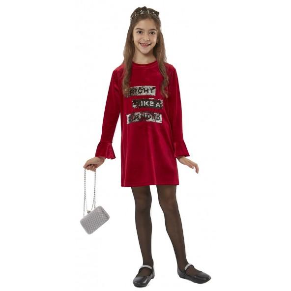 Ebita 187067 Φόρεμα Κόκκινο