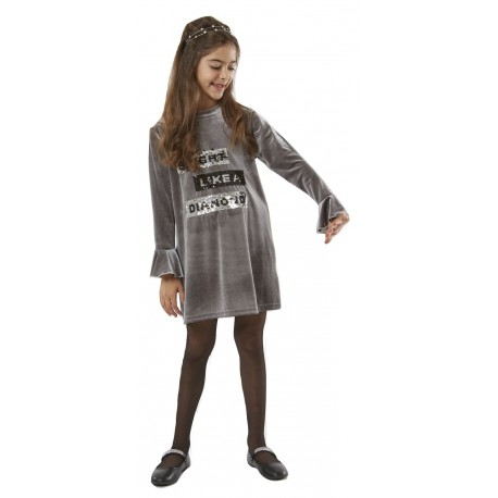 Ebita 187067 Φόρεμα Γκρι