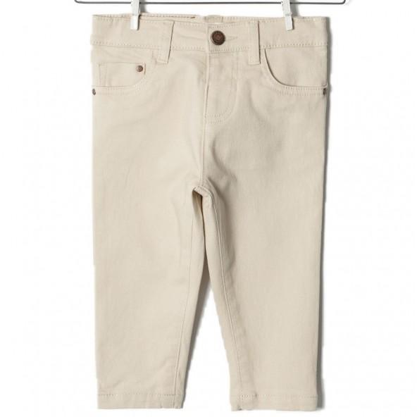 Zippy ZTB224311 Παντελόνι βρεφικό αγόρι μπεζ