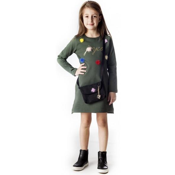 Joyce 88803 Φόρεμα Λαδί
