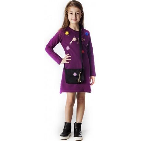 Joyce 88803 Φόρεμα Μωβ