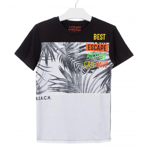 Losan 913-1032AA 063 Μπλούζα Κοντομάνικη