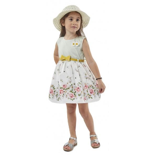 Ebita 198249 Φόρεμα με καπέλο