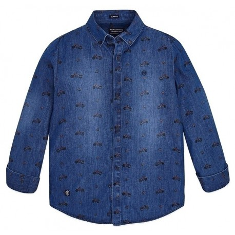Mayoral  18-07142-067 Τζιν πουκάμισο 7142