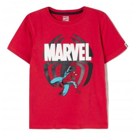 Zippy ZB03L11-455-4 Μπλουζάκι με ήρωες της Marvel κόκκινο