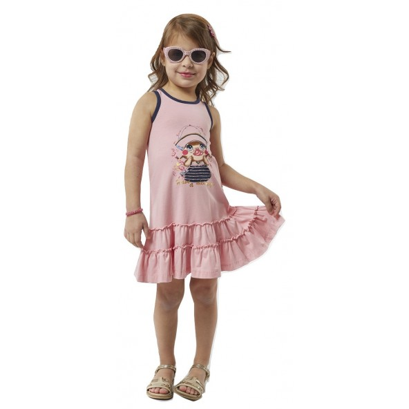 Ebita 198232 Φόρεμα Ροζ