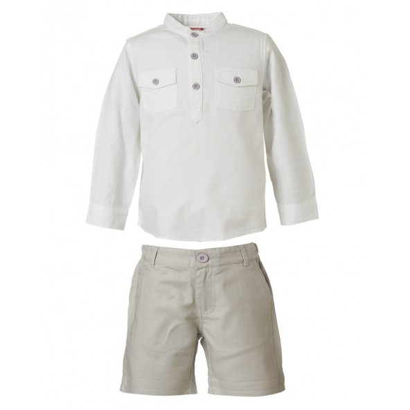 Energiers 11-219471-0 Σετ σορτς και πουκάμισο