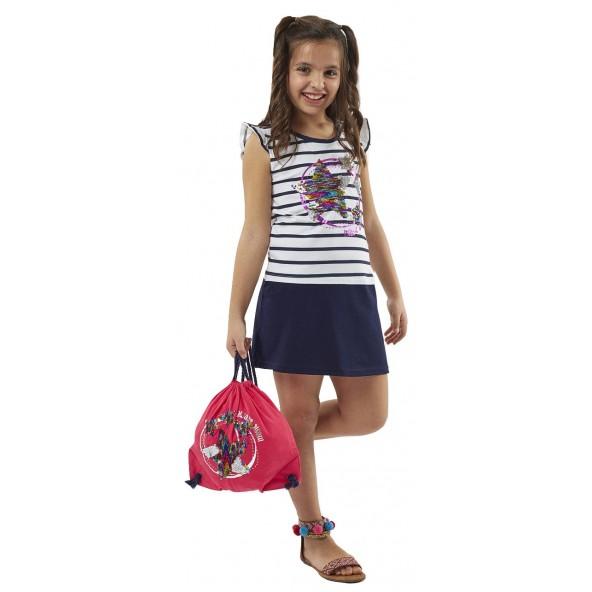 Ebita 198150 Φόρεμα με τσάντα