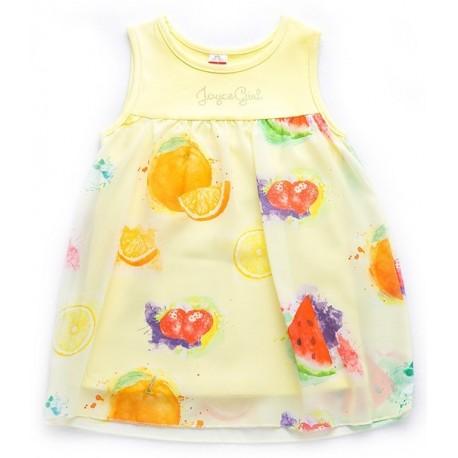 Joyce 92401 Φόρεμα Κίτρινο
