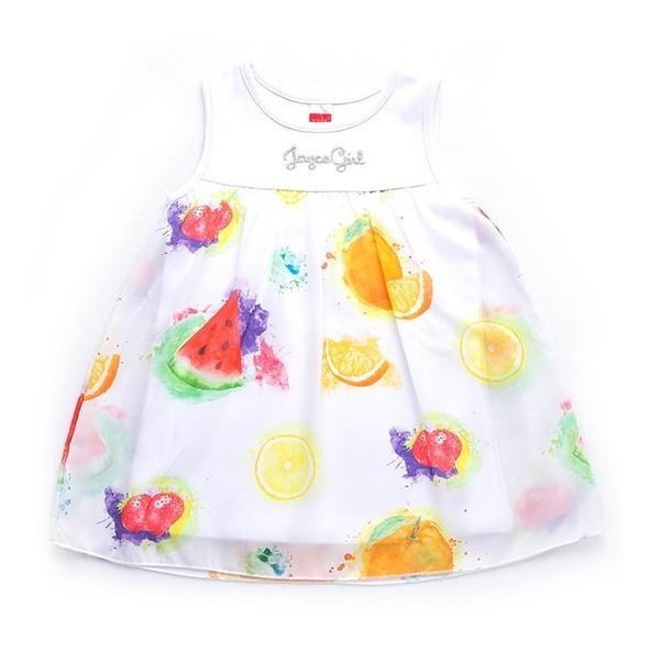Joyce 92401 Φόρεμα Λευκό