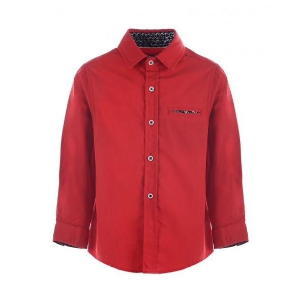 Marasil 21911922 Πουκάμισο μακρυμάνικο κόκκινο