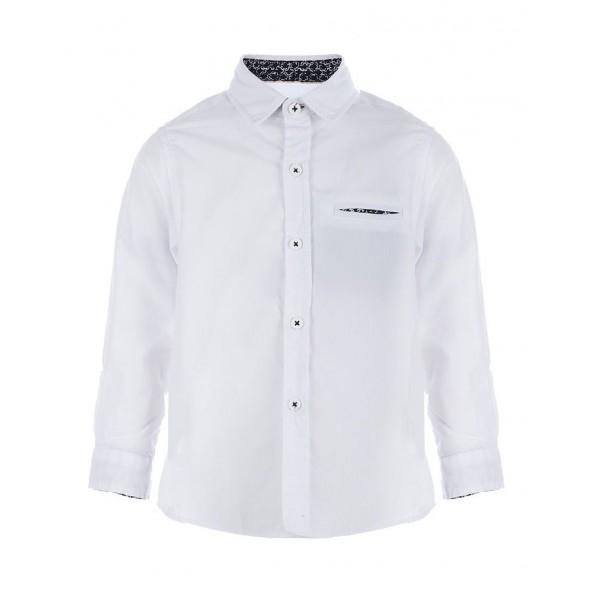 Marasil 21911922 Πουκάμισο μακρυμάνικο λευκό