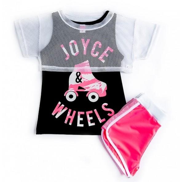 Joyce 92720 Σετ σορτς Ροζ
