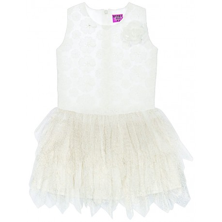 Funky 119-729110-1 Φόρεμα Εκρού