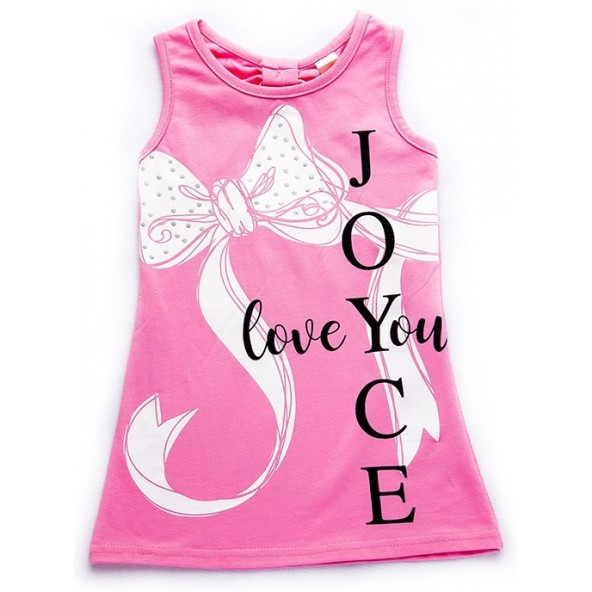 Joyce 92408 Φόρεμα ροζ