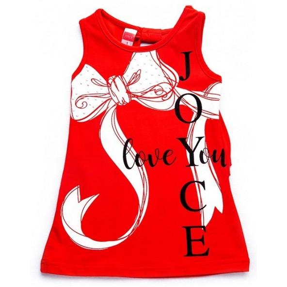 Joyce 92408 Φόρεμα κόκκινο