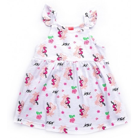 Joyce 92407 Φόρεμα λευκό