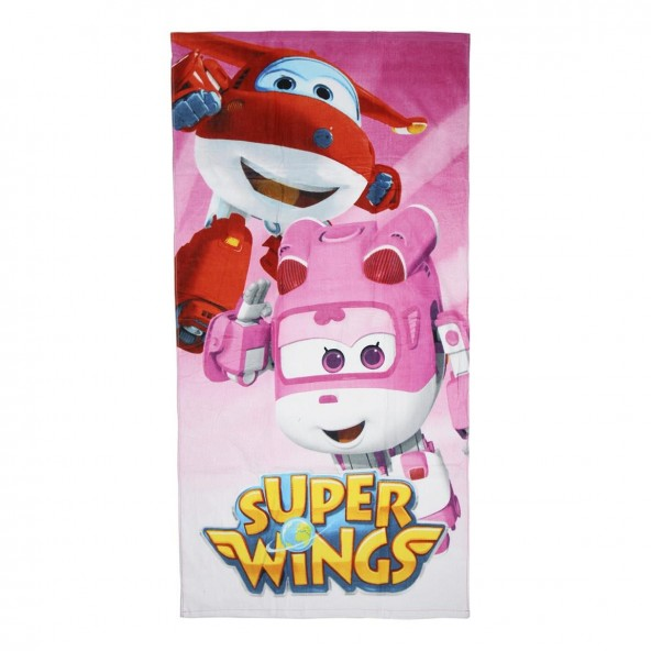 Loly 2200002234 πετσέτα θαλάσσης Super Wings
