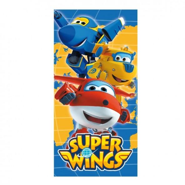 Loly 2200002182 πετσέτα θαλάσσης Super Wings