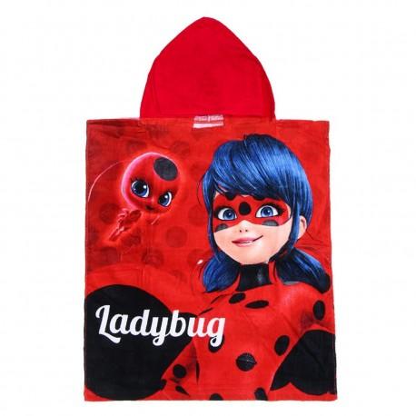Loly 2200002385 Πόντσο πετσέτα Ladybug