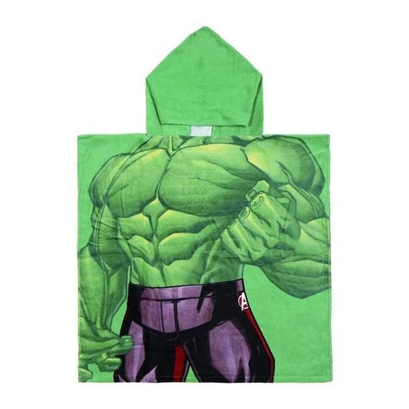 Loly 2200003875 Πόντσο πετσέτα Hulk