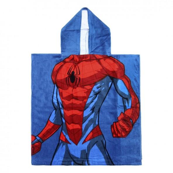 Loly 2200003878 Πόντσο πετσέτα SpiderMan