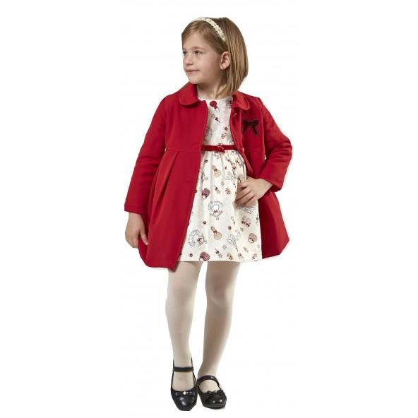 Εβιτα 199201 Σετ φόρεμα παλτό